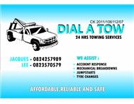 24 HRS TOWING SERVICES AVAIL (DIAL A TOW PTY LTD)