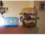 a triple Hamsters cage include accessories or a single cage...