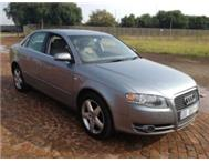 2005 AUDI A4 2.0T RED T EXTRA KILOWALTS A/C P/S E/W LEATHER SEAT