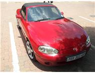 Mazda mx-5 2003 1.8 hard and soft top