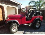 JEEP - WILLYS CJ 7 Chev V8 Auto 4X4 Alberton