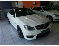 2012 MERCEDSE BENZ C63 AMG COUPE