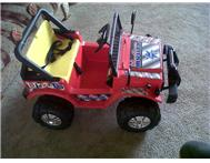 Children s fully rechargeable battery-operated cars