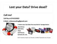 Professional Data Recovery Services at afordable prices