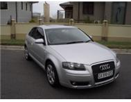 BARGAIN 2005 AUDI A3 3.2 QUATTRO 6 SPEED 85 000KM