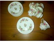 Royal Albert moss rose tea set