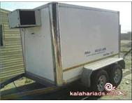 Refrigerated bakkie trailer to hire