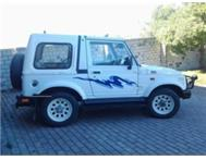SUZUKI SJ413 4X4 PLUS CANOPY AND A-FRAME
