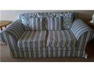 2 x large two-seater couches