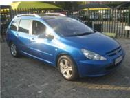 Peugeot 307 SW 7 seater! 2.0i Manual! Full house!