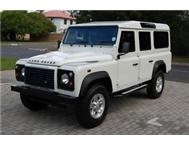 2009 LAND ROVER DEFENDER 110 PUMA TDi 6-SPEED