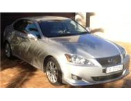 LEXUS iS 250 SE A/T 2008 SILVER