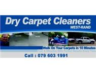 DRY CARPET CLEANERS 079 603 1991