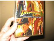 Complete set of INDIANA JONES DVDs : NEW and unwrapped