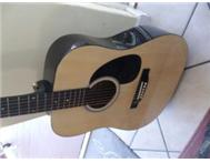 acoustic Stagg guitar