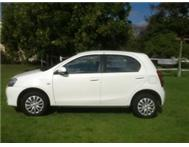 Brand new Etios for sale