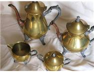 Brass Coffee/Tea Set
