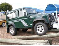 2002 LAND ROVER DEFENDER 90 TDI 5