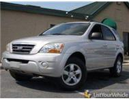 2008 Kia Sorento 2.5D in excellent condition