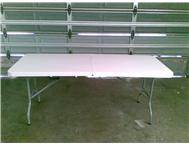 FOLD UP TRESTLE TABLES ON SALE