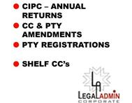 Pty Registrations & Amendments.