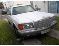 MERCEDES-BENZ 500SE FOR SALE OR SWAP WITH SMALLER CAR! Cape town