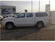 2011 TOYOTA HILUX 3.0 D4D MANUAL 4X4 WHITE 21000 2011