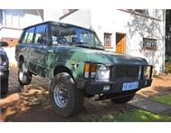 Green 2-door Range Rover Classic for Sale