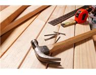 Professional Carpentry Services Available for low cost
