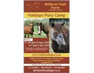 Pony Camp - School Holidays