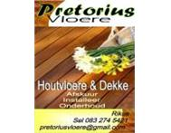 Wooden Flooring Installations and Sanding Bloemfontein