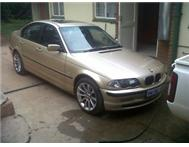 BMW 318I E46 2001 MODEL PRE-FACE FOR SALE
