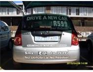 Do you want to Drive a NEW CAR from only R699 per month! Pretoria