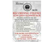 Recording Studio Now Open!