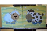Farm Animals Canvas Set in Baby Maternity & Toys Western Cape Stellenbosch - South Africa