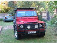 Red Land Rover Defender Tdi for Sale
