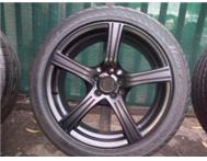 17inch mags and tyres golf 4 polo 5 holes jetta 4
