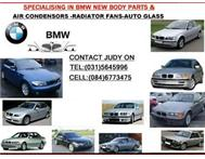 SPECIALISING IN BMW NEW BODY PARTS-RADIATORS-RADIATOR FANS-----