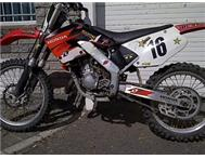selling my cr 125 cc 2 stroke