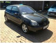 2005 RENAULT CLIO 1.6 DYN. AA TEST SERV & C/BELT DONE SHOWROOM SMASH & GRAB TINT(VISIT US ON WWW