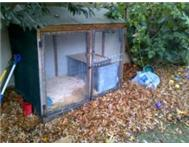 Rabbit cage/ aviary for sale