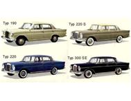 MERCEDES-BENZ 220S 230S FINTAIL BO...