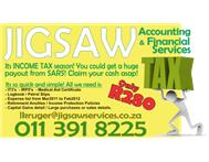 INCOME TAX - get money back from SARS! only R280ex -done within 24hours!