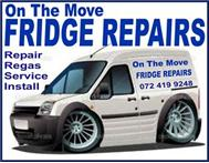 Fridge Repairs On The Move: 072 419 9248