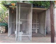 Large outdoor bird cage