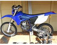 Yamaha WR 250 2006 full riding kit and bike ramp for sale.