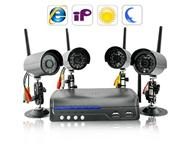 Amazing IP Camera Server with 4 Wireless Cameras