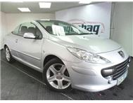 2008 PEUGEOT 307 1.6 Coupe Cabriolet Manual
