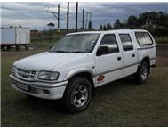 1998 ISUZU KB280 4X4 DOUBLE CAB WITH CANOPY