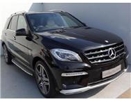 2013 MERCEDES-BENZ ML 63 AMG